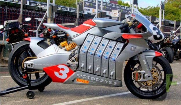 Motoczysz E1pc e-bike