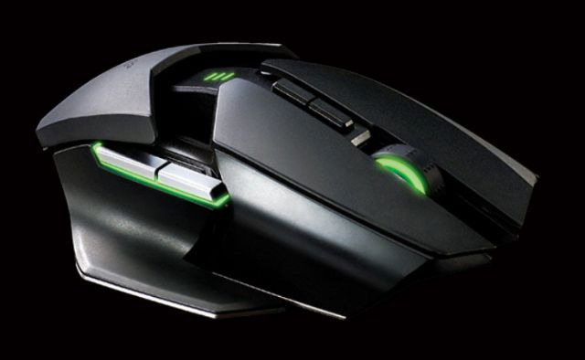 Shapeshifting Razer Ouroboros Mouse