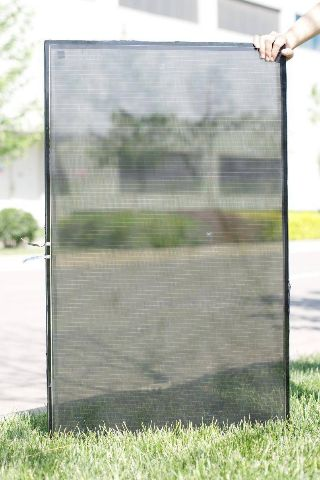 transparent solar panel