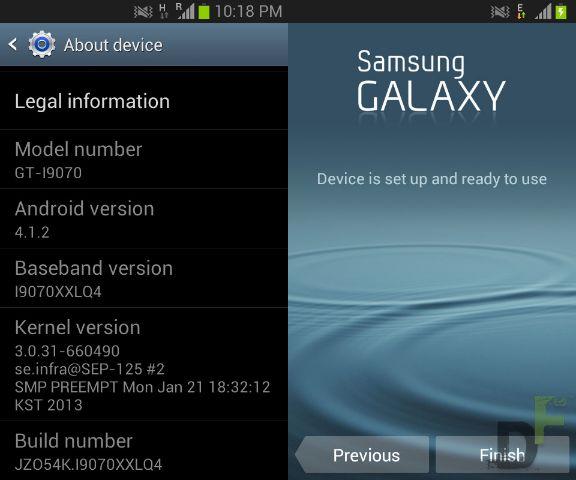 Samsung galaxy s advance firmware update i9070xxlq4 - DigitFreak