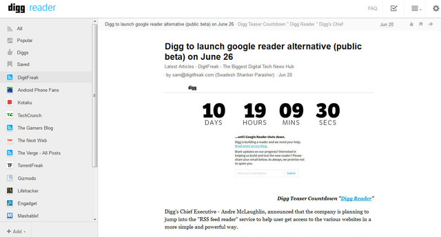 digg feed expanded view