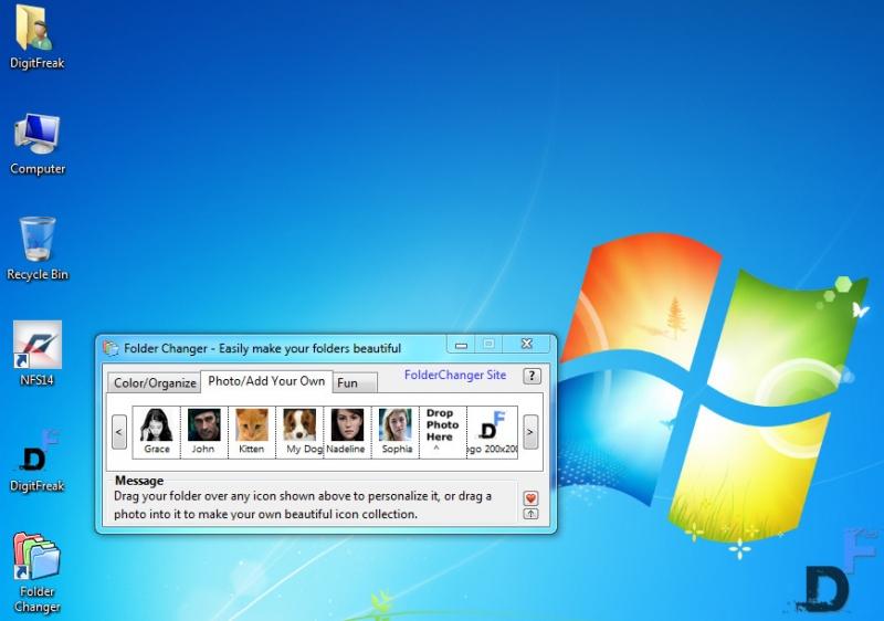 Folder changer image