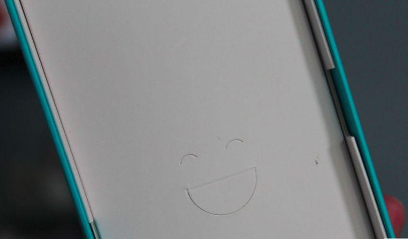 box smiling