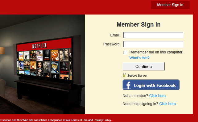 netflix account login delete viewing history step 1