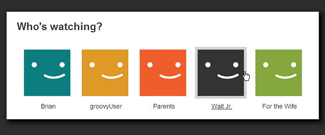 select your profile netflix clear recent viewing history step 2