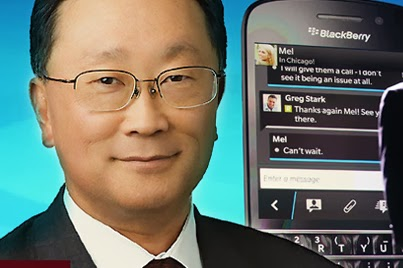 John Chen blackberry facebook web