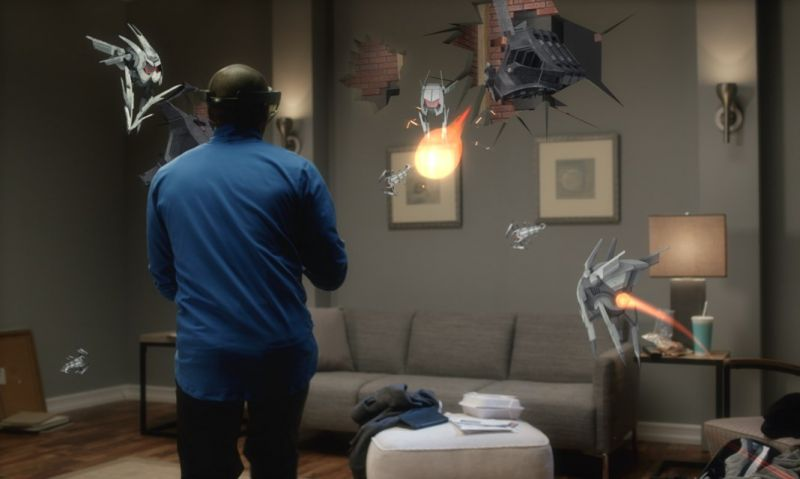 virtual reality hololens