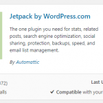 See more details or activate the WordPress plugin
